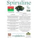 Spiruline solidaire en comprimés du Burkina Faso 500 gr