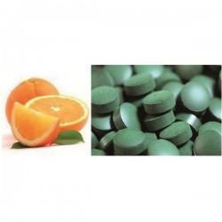 Spiruline Bio Comprimés à l'Orange Douce