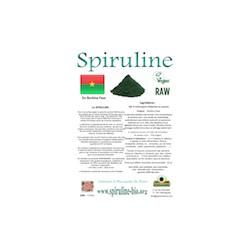 Spiruline solidaire en poudre du Burkina Faso 100 gr