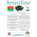 Spiruline solidaire en comprimés du Burkina Faso 100 gr
