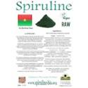 Spiruline solidaire en poudre du Burkina Faso 500 gr